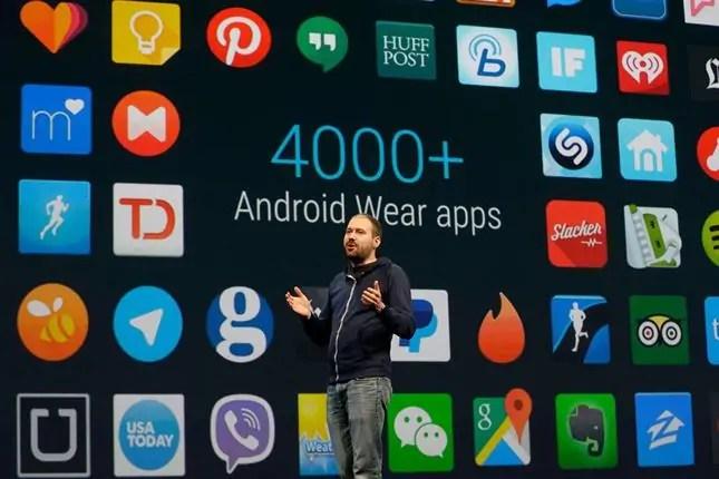 Tayari apps zipo nyingi kwelikweli kwa ajii ya Android Wear ila bado Android Wear haijapata mafanikio kama ya Apple Watch