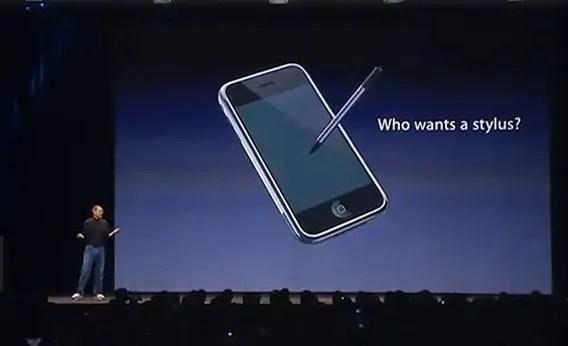 Picha ya siku ambayo Steve Jobs alikejeli utumiaji wa teknolojia hiyo