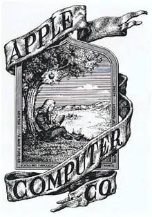 Logo Ya Kwanza Ya Kampuni La Apple