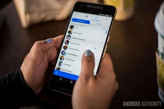 facebook messenger ni lazima