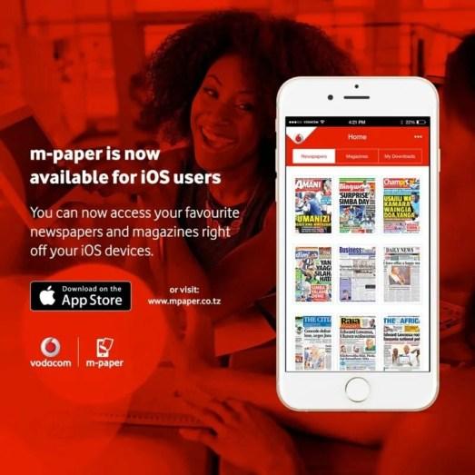 app ya m paper kwa iOS