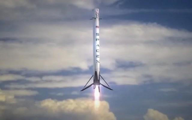 Spx-F9-Landing-Burn