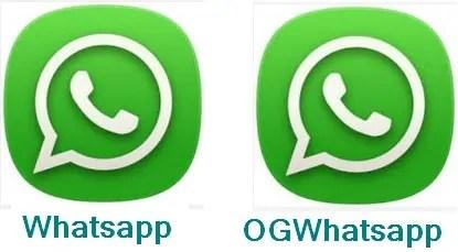 WhatsApp Ya Kawaida Na OGWhatApp