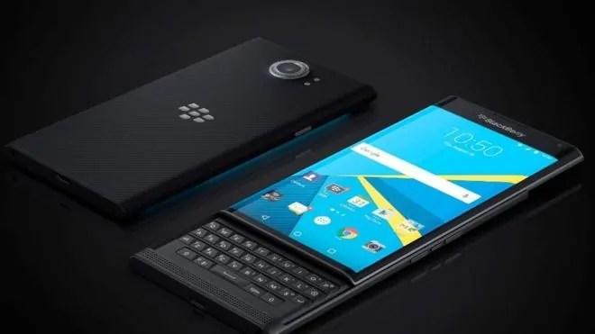 Moja ya simu janja zinazotengenezwa na Blackberry zenye kutumia Android