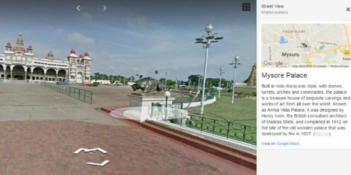 google street view india