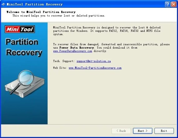 Software kwa ajili ya kufanya recovery ya data zako kufanya partition
