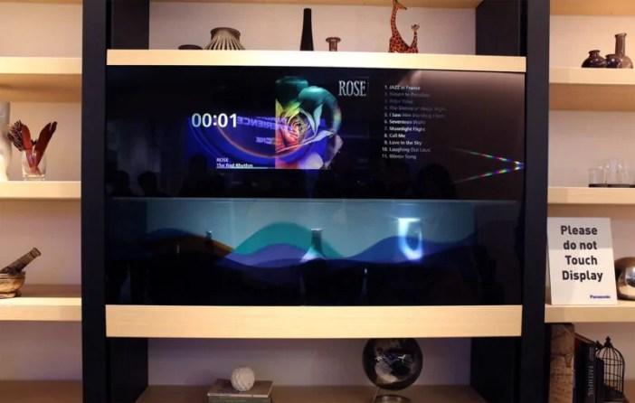 Panasonic watambulisha TV yenye uwezo wa kutoonekana