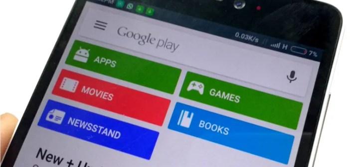 google play store app error