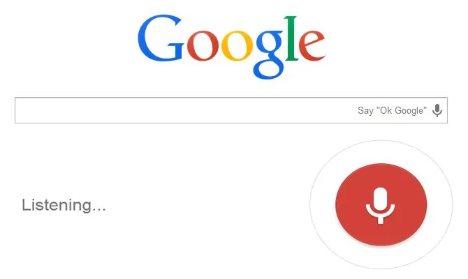 voice search googe