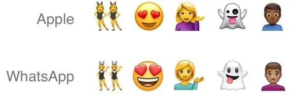 WhatsApp yatoa seti ya emoji zake mpya