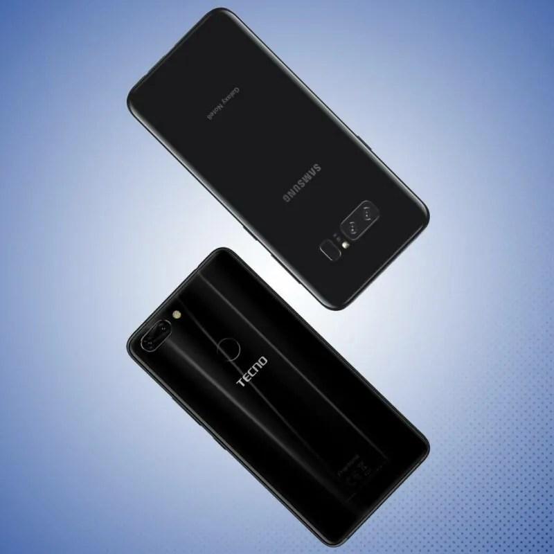 Jicho Letu Katika TECNO Phantom 8 Na Samsung Galaxy Note 8!