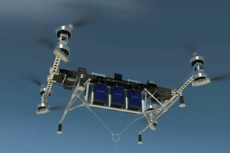 Drone ya kubebea mzigo wa zaidi ya kilo 200 yaundwa