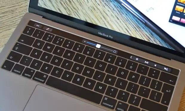 Kicharazio cha kwenye MacBook