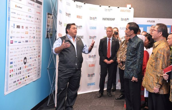 Presiden Joko Widodo, Plug and Play, Saeed Amidi