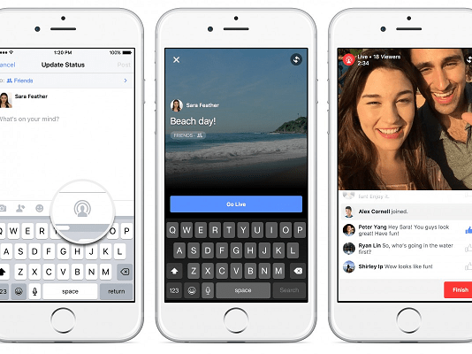 Fitur Facebook Live Streaming