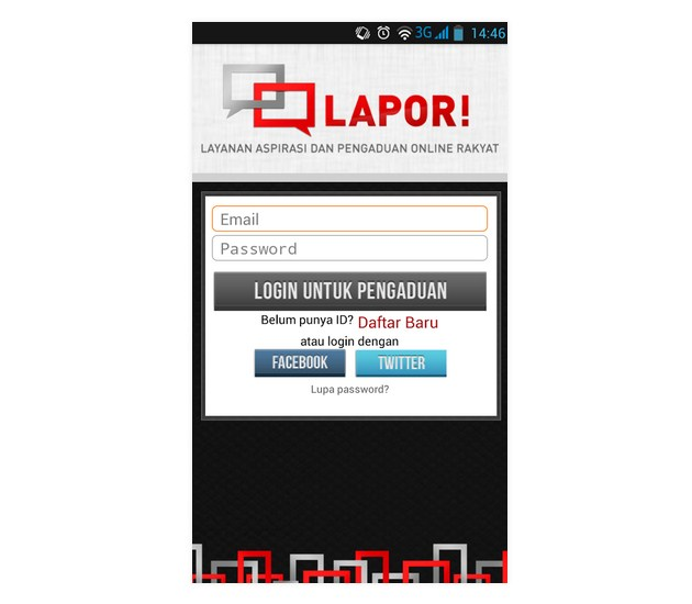 LAPOR!, Android, Play Store