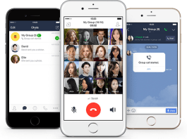 Line, Group Call