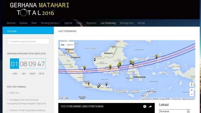 live streaming, gmt, gerhana-indonesia.id