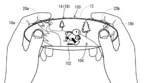 Gambar paten kontroler NX yang diajukan Nintendo
