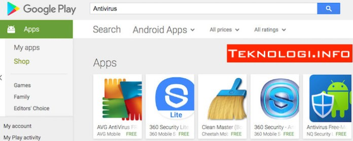 Antivirus Android Apps on Google Play