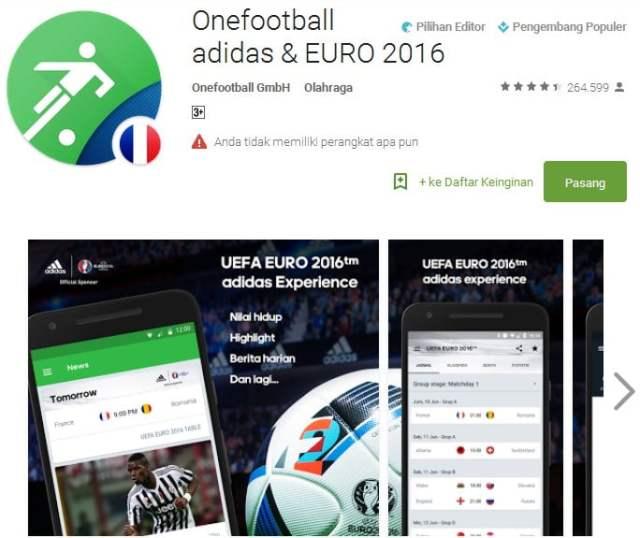 Onefootball adidas & EURO 2016