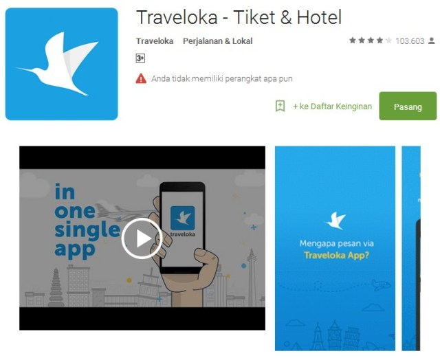Traveloka - Tiket & Hotel