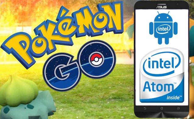 Download Pokemon Go untuk Asus Zenfone Intel