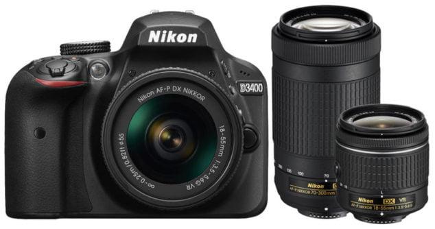 Kamera Nikon terbaru untuk kelas entry-level dan pemula.