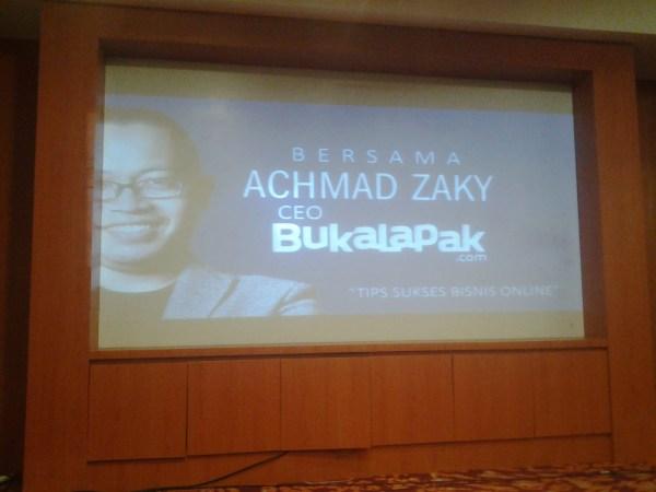 Achmad Zaky, CEO Bukalapak