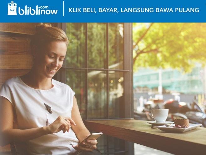 Program Blibli.com NOW