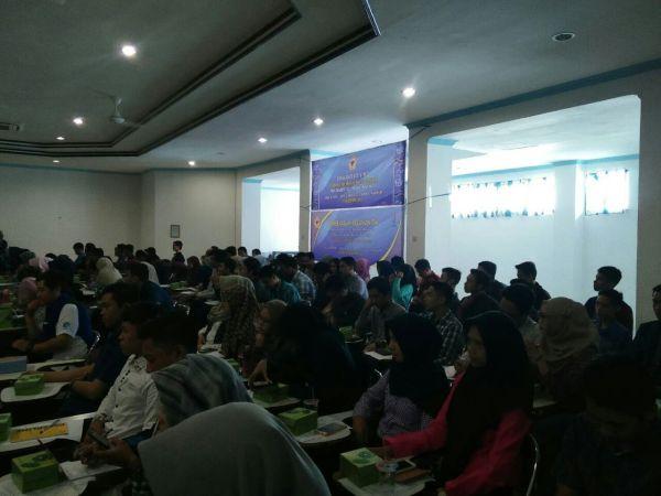 Seminar, Jurnalistik, Mahasiswa, HIMPIKOM, FKIP, ULM