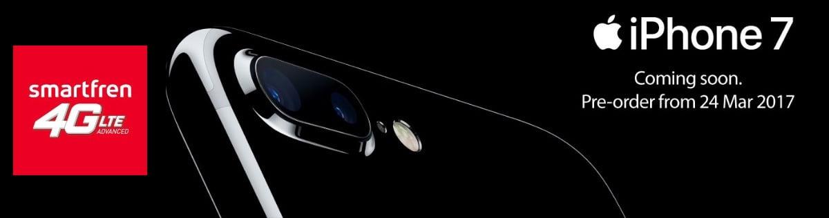Menjadi Official Telco Partner, Smartfren akan Buka PreOrder iPhone 7 dan 7 Plus Minggu Depan
