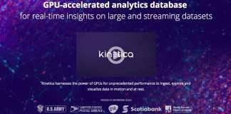 Kinetica GPU Database for Advanced Analytics