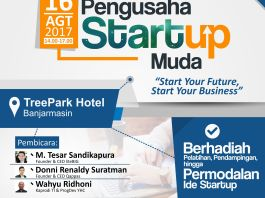 startup, seminar nasional, banjarmasin, politeknik hasnur