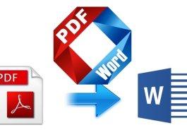 mengubah PDF ke Word online