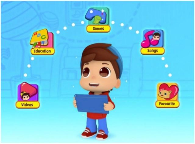 Game interaktif dan video edukatif aplikasi Omar Hana