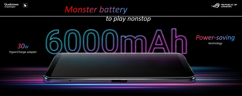 Monster Battery to Play Nonstop 6000mAh