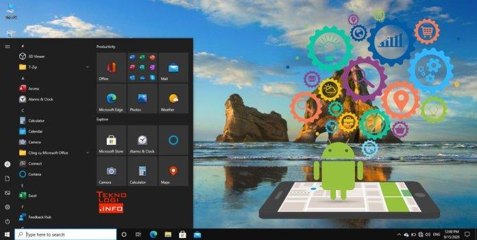 Buka APK Android di Windows 10