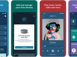 Tangkapan Layar Amazon Alexa