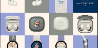 Samsung Wearables x Maison Kitsune Indonesia