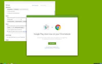 Google Playstore kupatikana kwenye Chrome OS