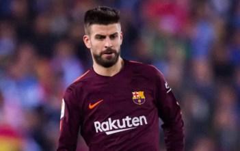 Gerard Pique wa Barcelona ahudhuria uzinduzi wa mkutano wa MWC