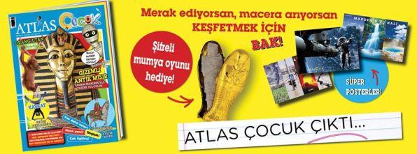 atlas çocuk dergisi çıktı!