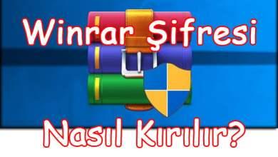 Photo of Winrar Şifresi Nasıl Kırılır?