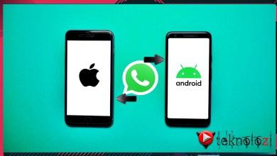 Photo of iPhone'dan Android'e WhatsApp Taşıma Nasıl Yapılır ?
