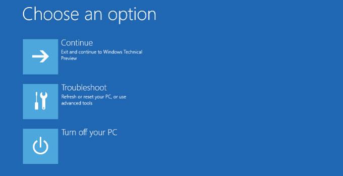 Windows 10 Güvenli Mod 1. Adım