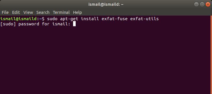 Linux'ta exFAT Sürücüsü Nasıl Kurulur ve Kullanılır