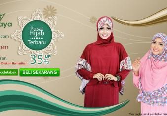 situs belanjagaya, diskon hijab, free ongkir
