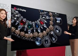 LG Kenalkan TV Terbesar di Dunia