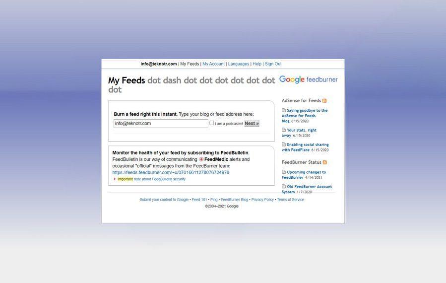 google-feedburner-kapaniyor-mu